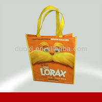 Promotional non woven target reusable shopping tote bag 100% manufacturer