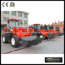 CE approved construction equipment new mini front loader with snow blade for sale