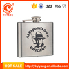 Alcohol promotional products yongkang factories hip flask