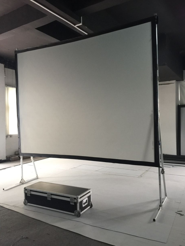 100inch Portable outdoor screen for projector