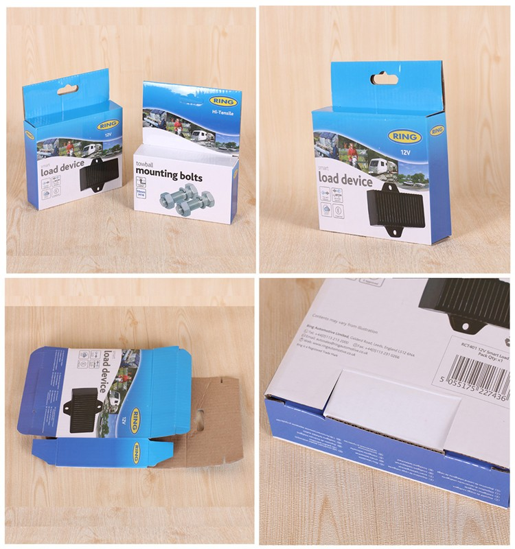 Customized Logo Recyclable Paper Electronics Packing Box
