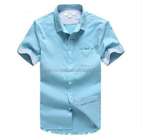 Wholesale African shirt designs cotton casual loose cowboy jeans fancy men latest new model shirts