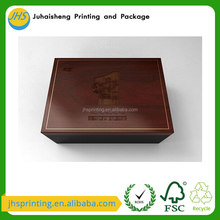 New Products Packaging Gift Essential Oil Storage Wooden Box With Carve Logo