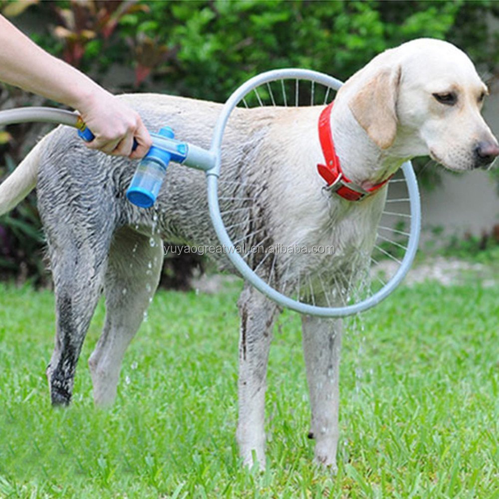 Woof Washer 360 Pet Dog Grooming Shower with Ring-shaped Washing Station for Your Dog