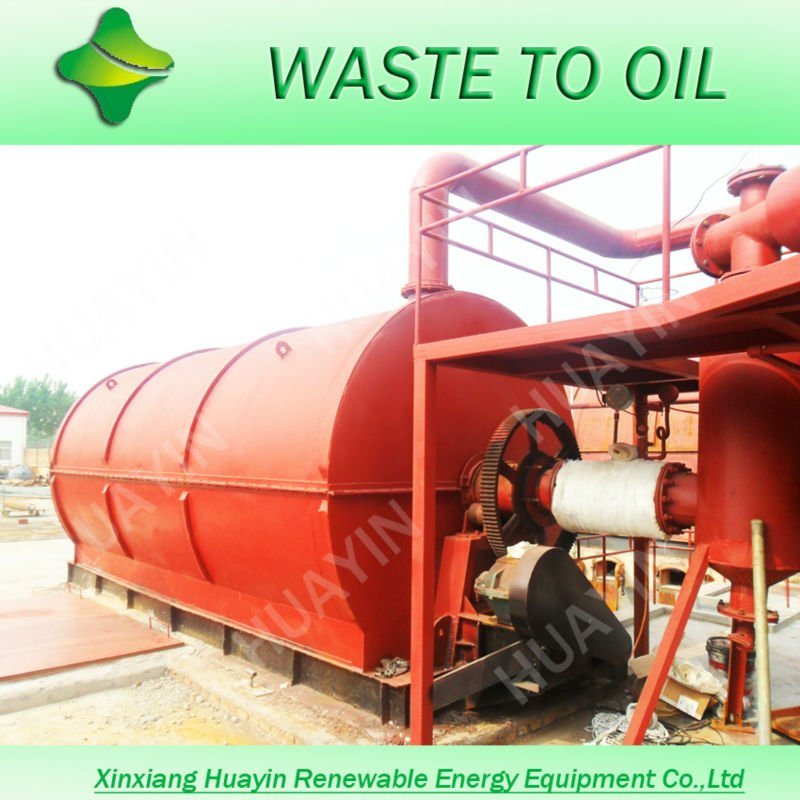 Hot sales in India scrap tyre recycling to oil machine factory