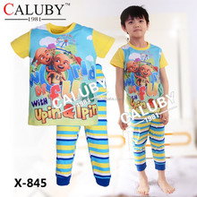 upin&lpin kids pajamas wholesale children pyjamas sleepwear boy