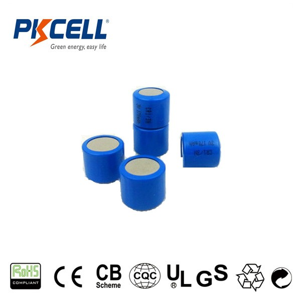 High Quality 3 V CR 123 CR123A CR17345 1500MAH Cylindrical LiMnO2 Lithium Battery