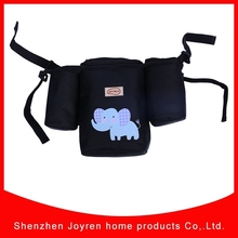 2015 New Design Printed Stroller Organizer With Double Straps