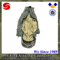 US army 300g/m2 cotton cloth shell camping mummy sleeping bag