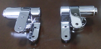Zinc SS stainless steel soft closing plastic toilet seat hinge