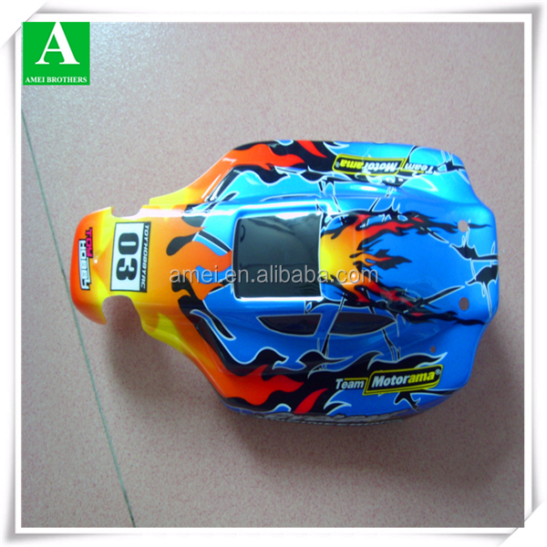 Manufacture custom thermoforming toy car plastic parts