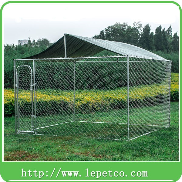 manufacturer wholesale high quality outdoor metal galvanized lowes dog kennels and runs