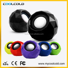 Fashion look mini 2.0 usb wired speaker for tablet pc laptop