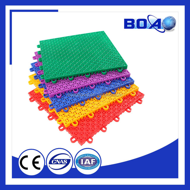 High Quality PP Outdoor Basketball Sports Court Flooring Surface