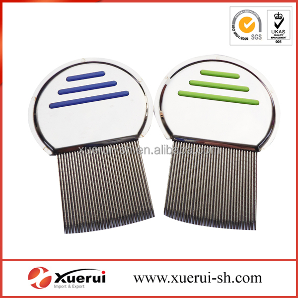 removal nit stainless steel handle lice comb, head lice comb