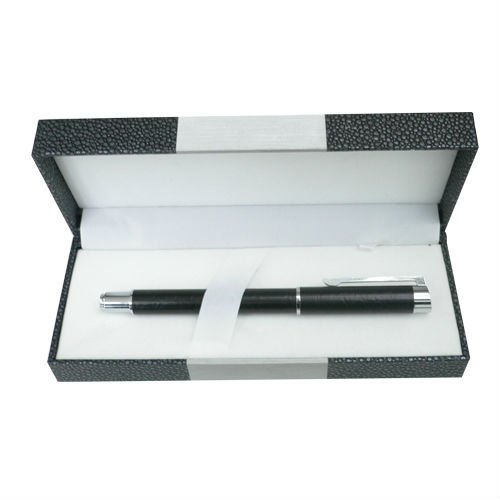 2017 New Products Promotional Oem Custom Logo Metal Roller Pen With Cardboard Gift Box As A Gift Set