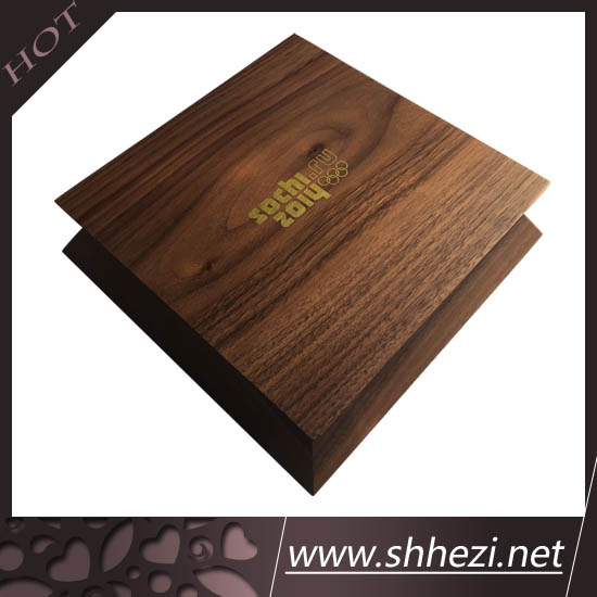 customized cardboard folding paper gift box with