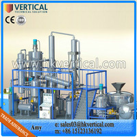 VTS-DPBlack Waste Oil Distillation Machine, vacuum distillation machine, oil recycling production line