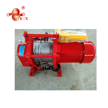 KCD single phase electric winch 220V 1ph