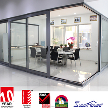 Luxury door makes life easier-Superhouse heavy duty lift&sliding door supply you a unique experience
