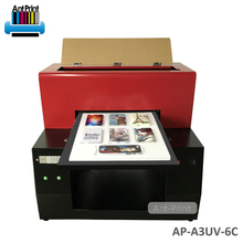 China Manufacturer Wide Format A4 UV led Flatbed Printer For Cell Phone Case Printing Machine