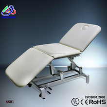 2015 facial bed sale&folding massage facial bed &solid wood massage table portable (KM-8801)