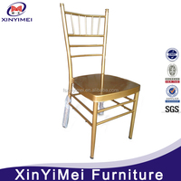 Competitive price good quality stackable aluminum banquet wedding chairs