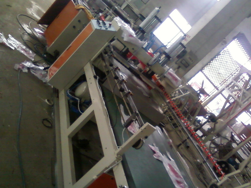 High speed Full Automatic Plastic Shopping Nylon Bag Making Machine