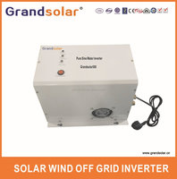 0.5KW PURE SINE WAVE INVERTER WITH MPPT/SINGLE PHASE SOLAR HYBRID INVERTER/500W UPS OFF GRID INVERTER