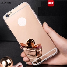 Ultra Thin Luxury Electroplate Mirror Tpu Phone Case Back Cover For Iphone 5S Se 5