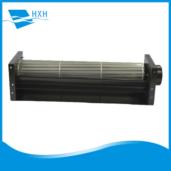 12V 24V DC Cross Flow Fan With shaded pole Motor