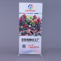 Advertisement product portable Butterfly X Banner size