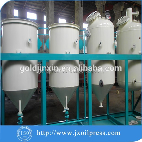 Hot selling soybean oil press machine/small scale crude oil refinery with best price