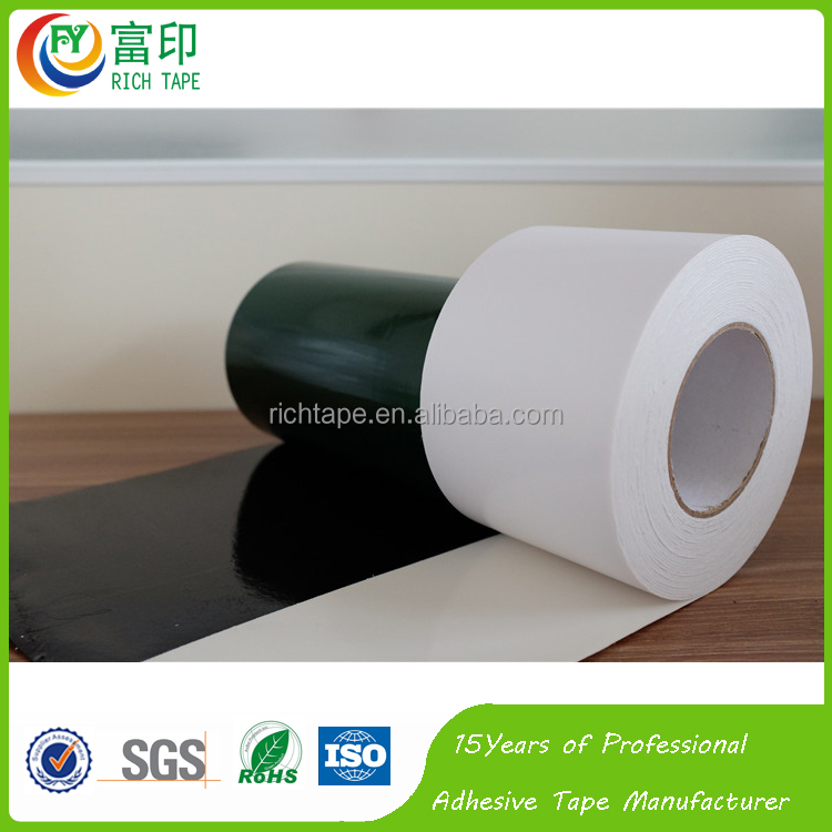 1.5mm Thickness Insulation Double Sided PE Foam Adhesive Tape with White Paper