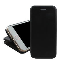 good quality card holder pu leather wallet flip cover for iphone 6 7 8 plus x with stand function