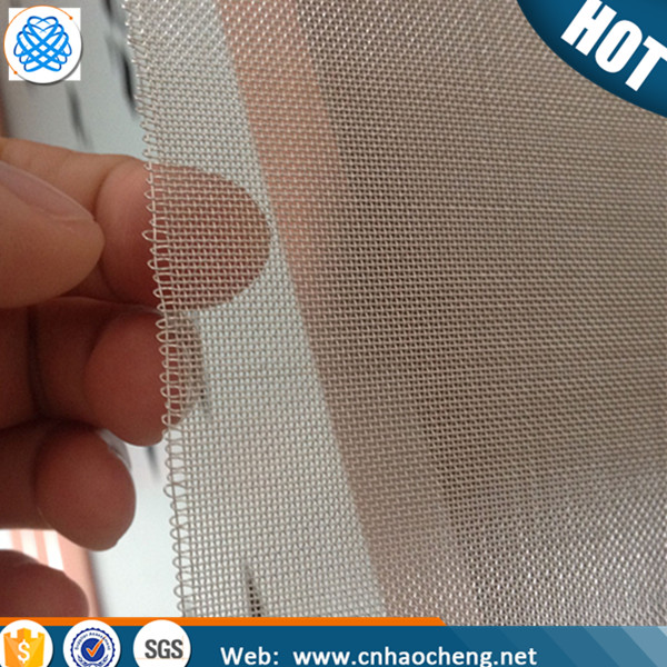Battery collector cloth 120 mesh 0.08mm pure silver wire mesh /mesh screen
