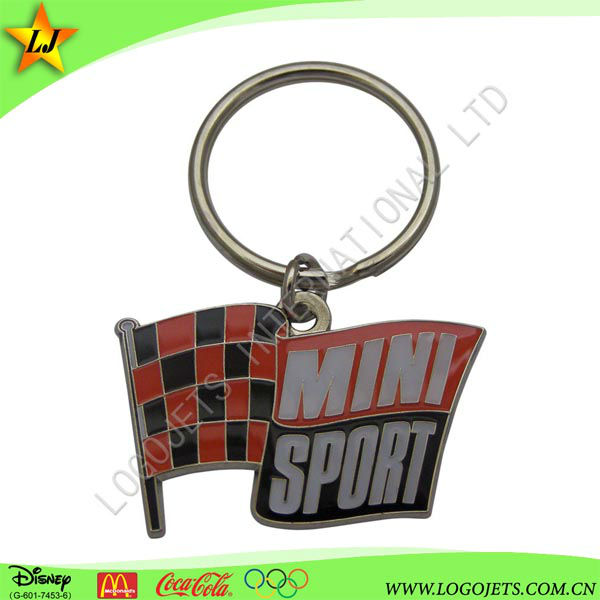 promotional iron keychain