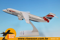 Aircraft BRITISH AIRWAYS BAe 146/Avro RJ Scale 1:120 Plastic Model Plane