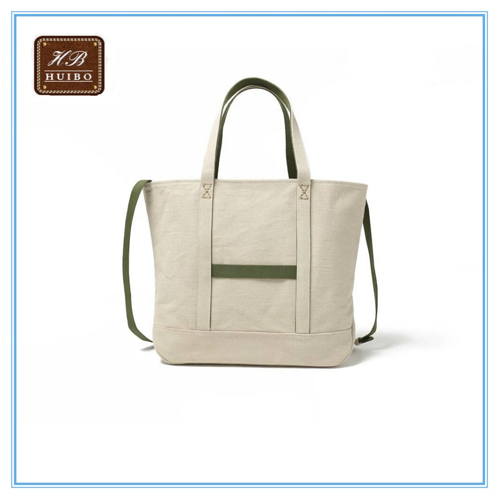 Canvas shoulder bags popular wholesale Japanese style tote bag