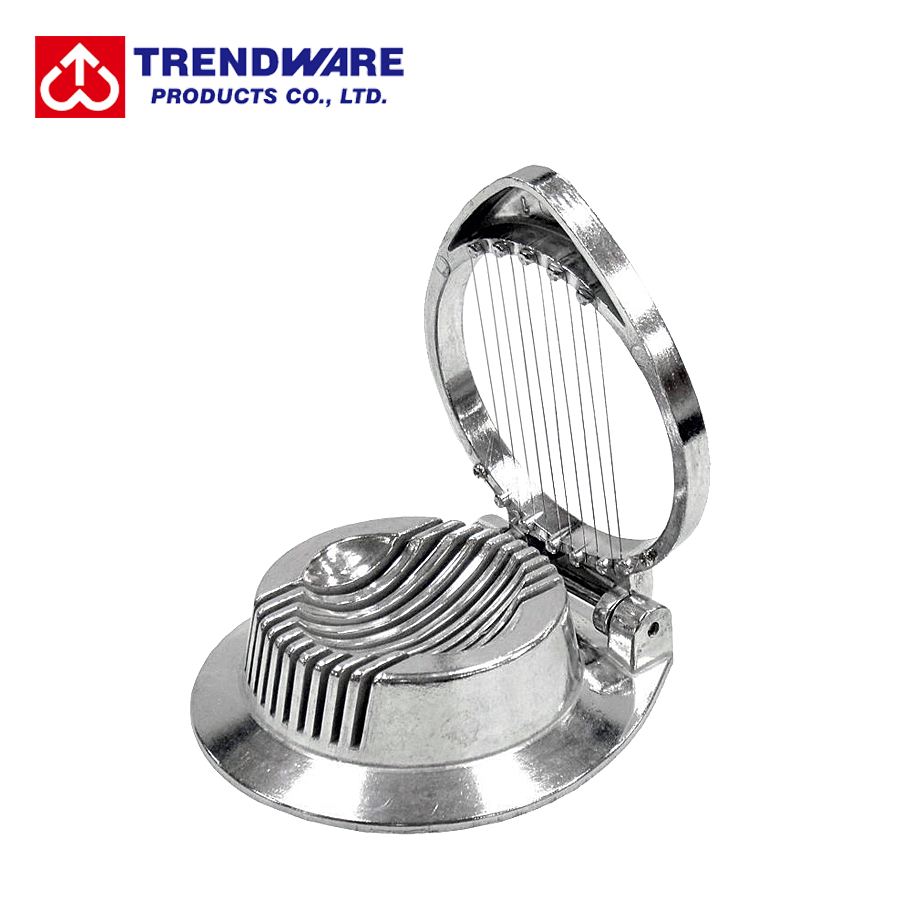 Kitchen Classic Round Shaped Cast Aluminum Egg Slicer Cutter