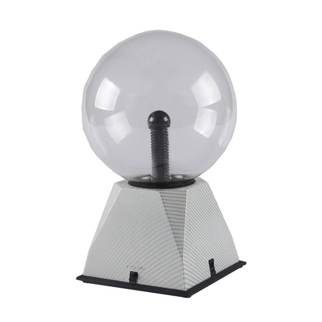 quality glass real crystal plasma ball