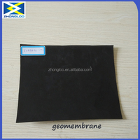 Black Color 1mm HDPE Geomembrane LDPE