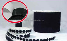 Nylon sticky glass adhesive hook and loop fastener tape