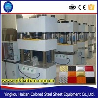 Design Decorative 3D Gusset plate ,steel wall panel roll forming machine
