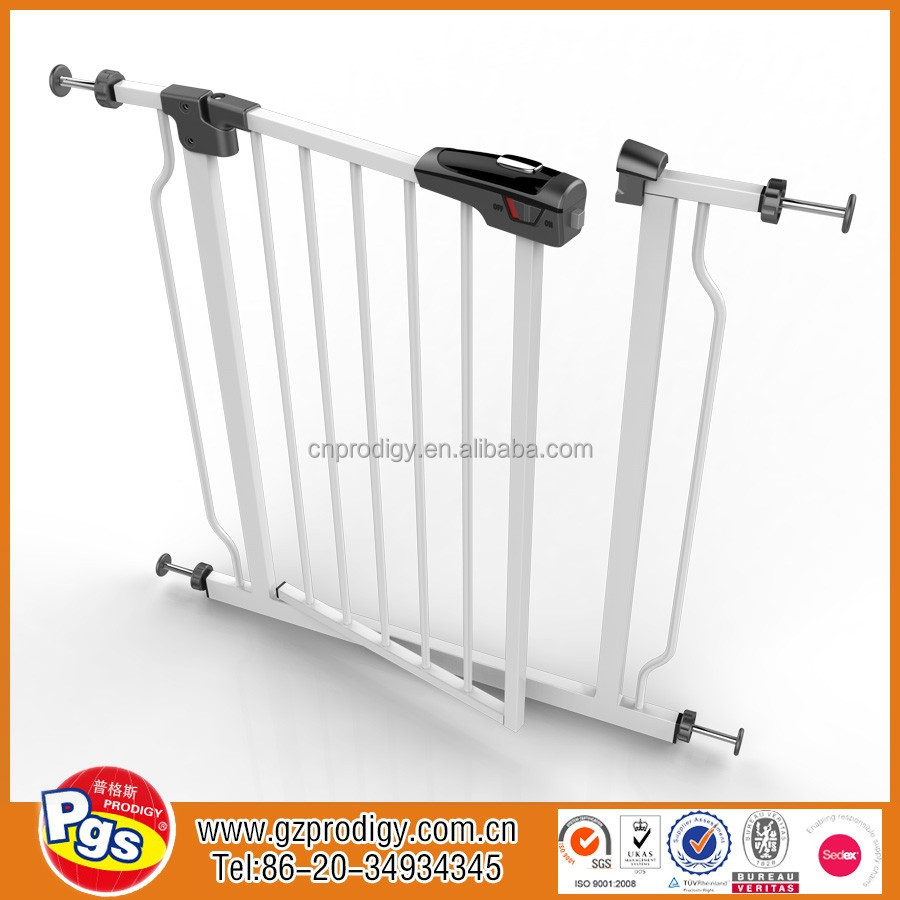 New High quality protective baby safety door gate, iron fancy gates