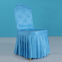 new style spandex/polyester sliver ruched spandex chair cover