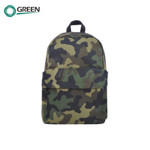 Promotional Cotton Canvas Backpack Bag Wholesale Outdoor Cartoon Child School Bag