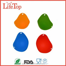 Hot Sell 100% Food Grade Green Silicone Rubber Egg Poacher