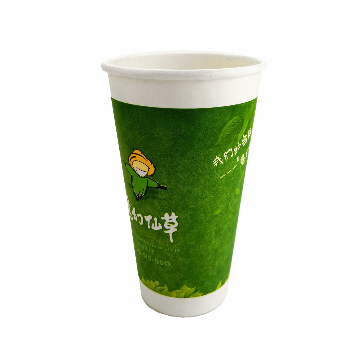 Customized Disposable 8oz 12oz 16oz single Double Wall foam padding Paper Coffee Cup