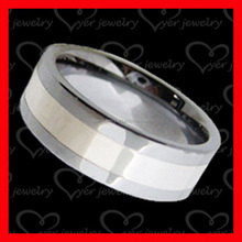 Alibaba wholesale black tungsten ring men jewelry cheap cost